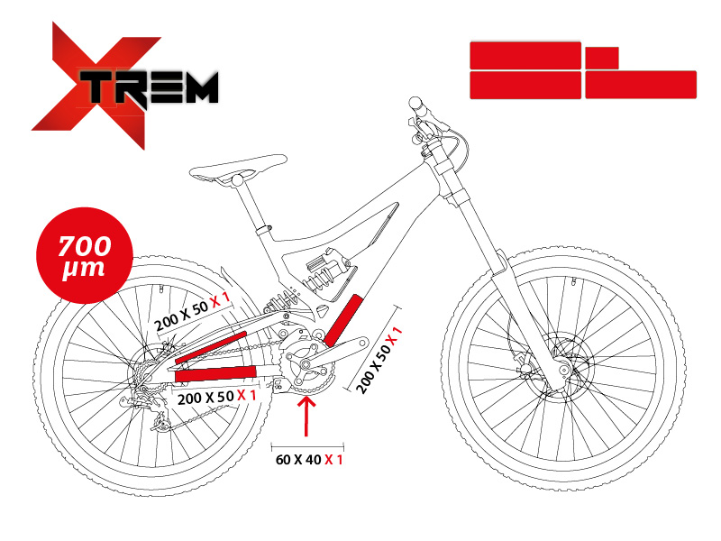 Clearprotect Pack Xtrem Downhill Bikes