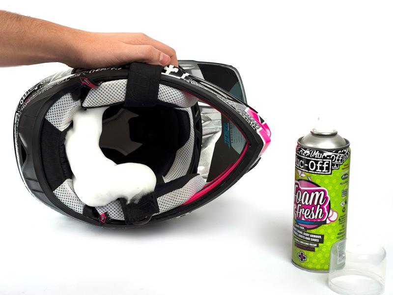 Muc-Off Foam Fresh - Anwendung