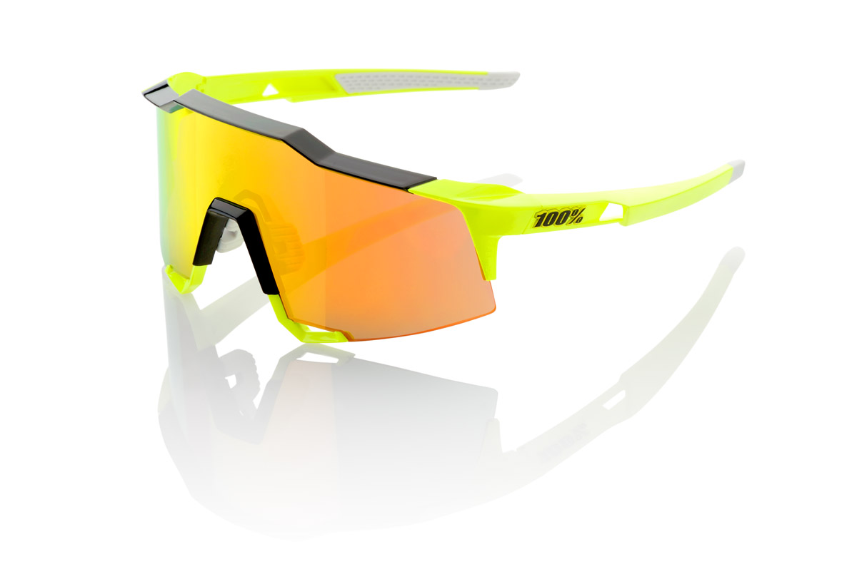 100% Speedcraft STD neon yellow