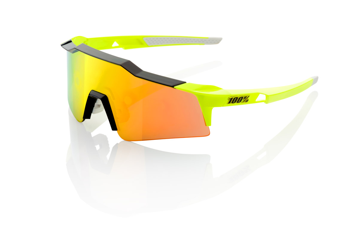100% Speedcarft SL neon yellow