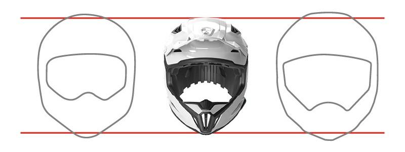 Kompakte Helmschale