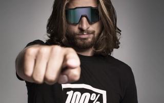Peter Sagan mit 100% Brille