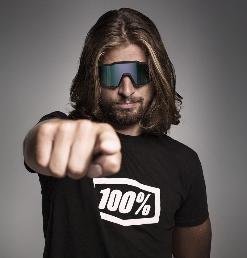 Peter Sagan mit 100% Brille
