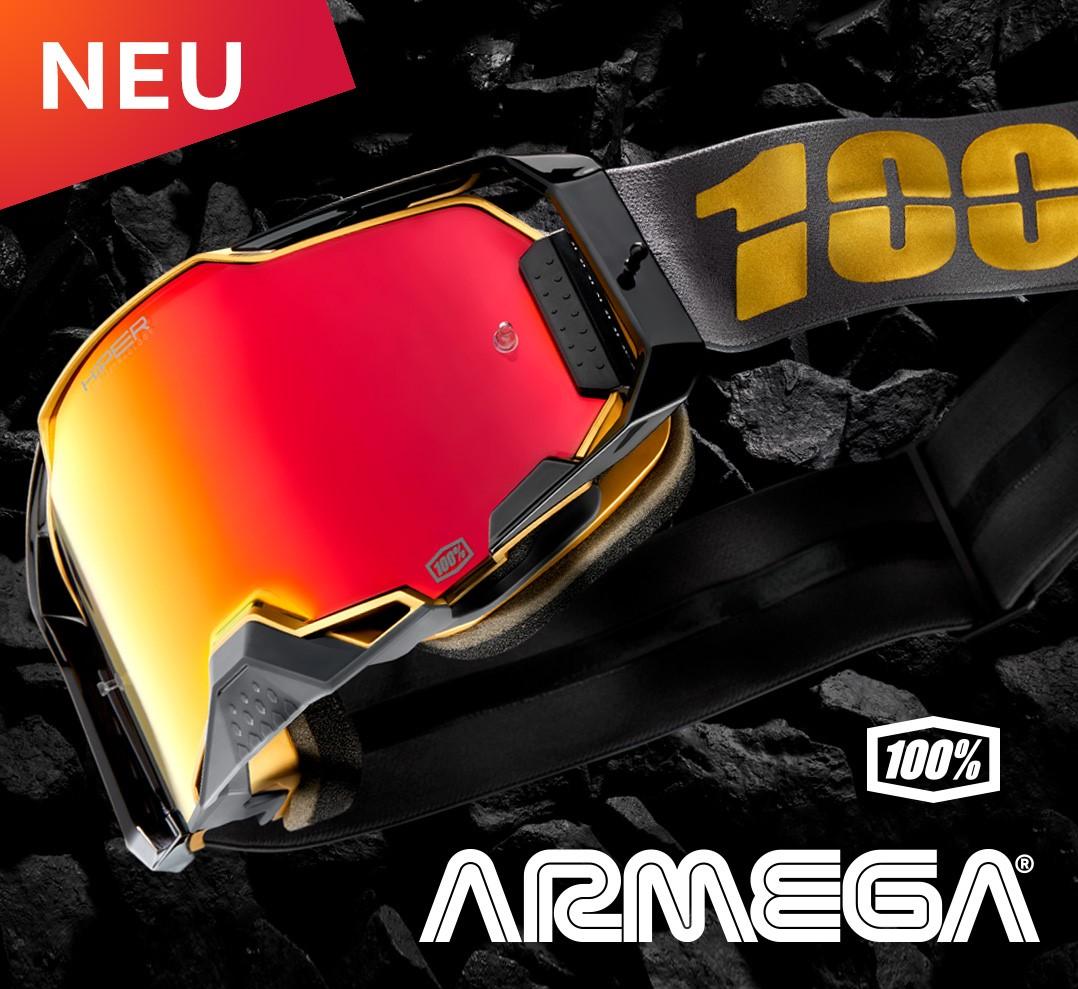 100% stellt ARMEGA-Brillen der nächsten Generation vor