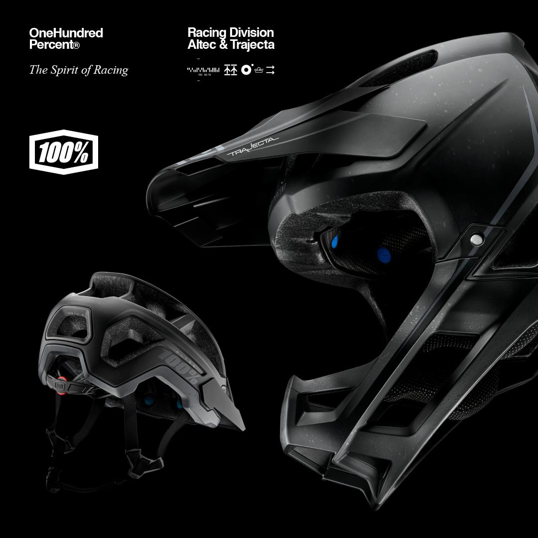 Neu – Ride 100% – Altec und Trajecta Helme